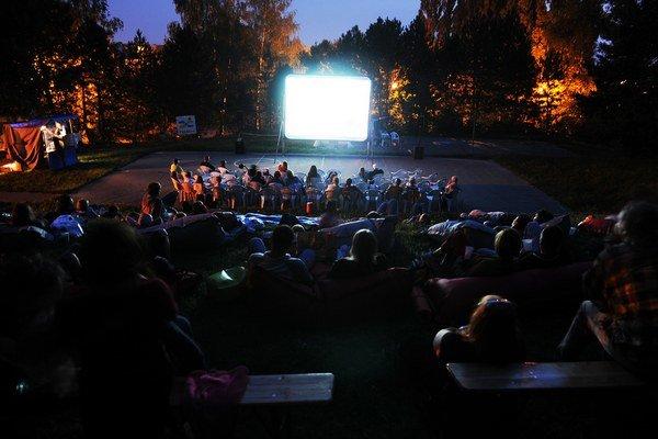 Letné kino opäť v Trenčíne.