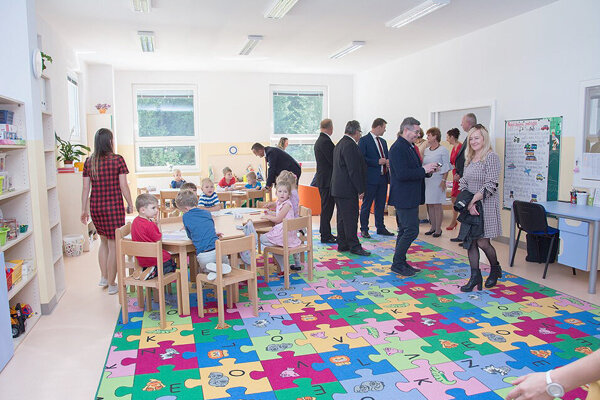 Deti získali nové moderné priestory.