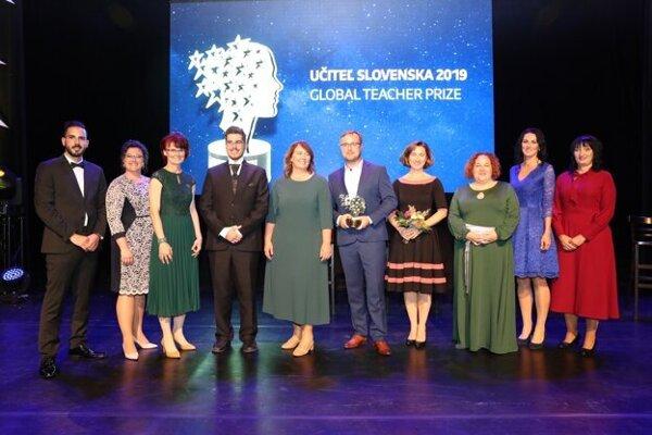 Finalisti Učiteľa Slovenska 2019 si užili slávnostný galavečer.