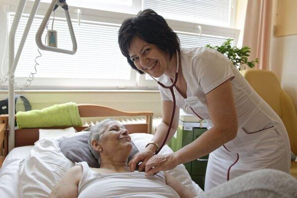 Ocenená primárka nemocnice MUDr. Marína Romanová.