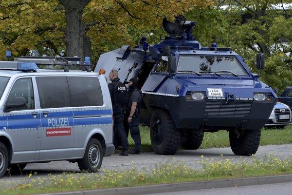 Nemecká polícia bola v pohotovosti.