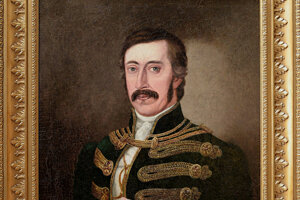 Objavený portrét Mikuláša Zmeškala po reštaurovaní.