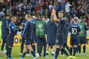 Momentka zo zápase Slovensko - Wales (kvalifikácia EURO 2020).