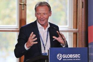 Viceprezident Európskej investičnej banky Vazil Hudák.