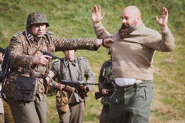 Rekonštrukcia bojov v SNP v Nižnej Boci