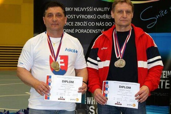 Peter Herák a Milan Gabrhel zlepšili svetové rekordy.