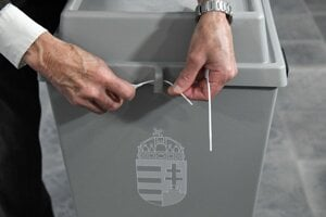 Volebný deň v Maďarsku.