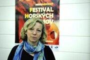 Riaditeľka Medzinárodného festivalu horských filmov Mária Hámorová.
