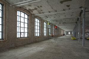 Súbežne urobili aj práce vo vnútri pradiarne, ktoré postupne vyčistili.