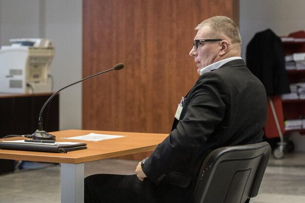 Ján Kováčik na súde.