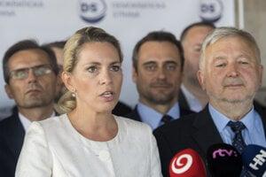 Odídenci z SaS vstupujú do DS, lídrom do volieb bude Kiššová.