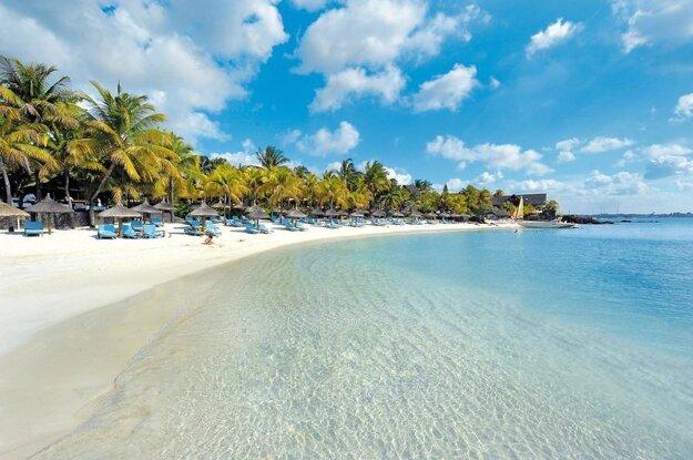 Pláž Grand Baie Beachcomber Royal Palm