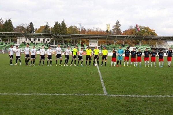 Zo zápasu MŠK Rimavská Sobota - MŠK Novohrad Lučenec.