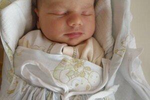 Samuel Chmeliar (3570 g a 52 cm) sa narodil 18. septembra Kristíne a Michalovi z Papradna.