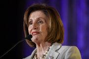 Predsedníčka Snemovne reprezentantov Kongresu USA Nancy Pelosiová.