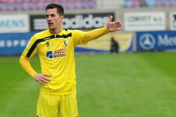 Štefan Pekár strelil oba góly kopaničiarov v jarnej časti.