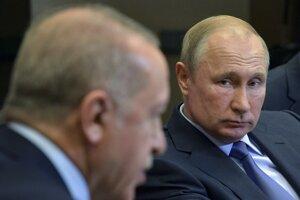 Prezidenti Putin a Erdogan sa stretli v Soči.