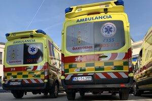 Záchranári z Košickej záchranky zasahovali počas noci niekoľkokrát za hodinu.