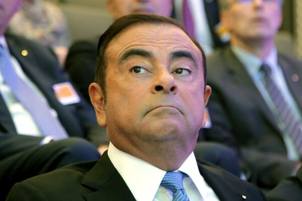Exšéf japonskej automobilky Nissan Carlos Ghosn.
