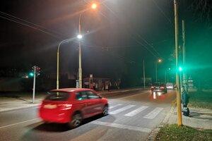 Semafory na Volgogradskej.