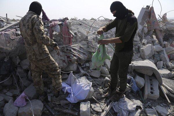 Miesto, kde zabili Baghdádího.