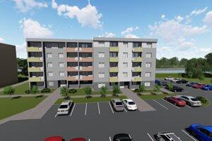 Návrh novej bytovej jednotky.