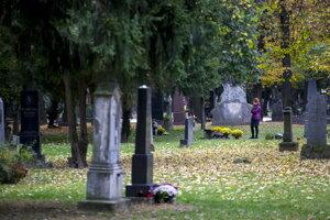 Ondrejský cintorín v Bratislave.