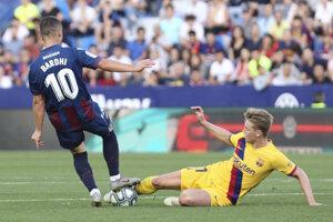 Zápas Barcelony s Levante