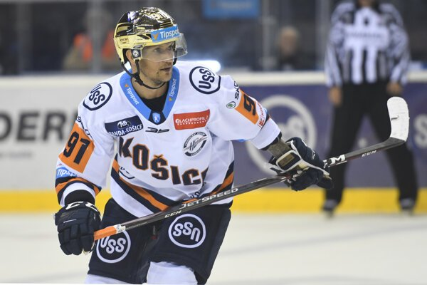 Košický útočník Michal Chovan musel pre zranenie v poslednom zápase odrieknuť reprezentáciu.