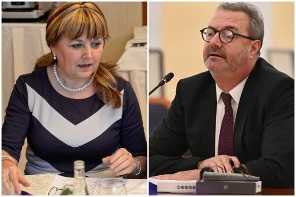 Alena Šišková a Ján Šikuta.