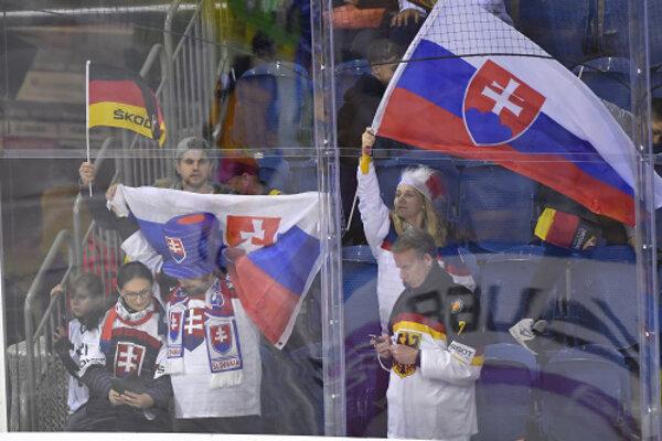 Fanúšikovia Slovenska. (Ilustračný snímok)