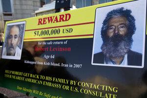 Za vypátranie Roberta Levinsona bola vypísaná odmena milión dolárov.