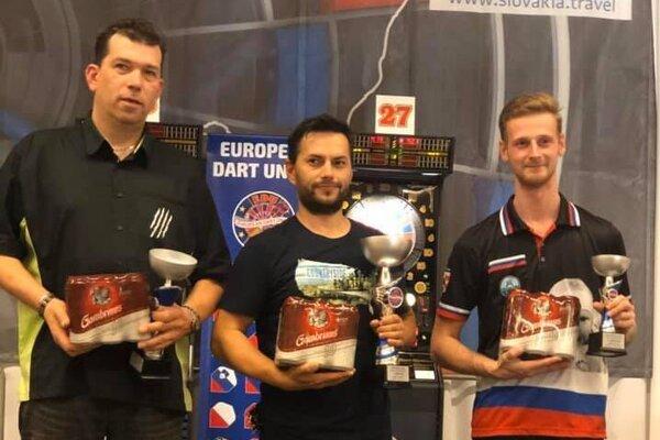 Marek Bača (vpravo) skončil na kvalitne obsadenom turnaji tretí.