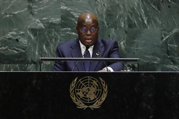 Ghanský prezident Nana Addo Dankwa Akufo-Addo.