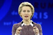 Novozvolená šéfka Európskej komisie Ursula von der Leyenová.
