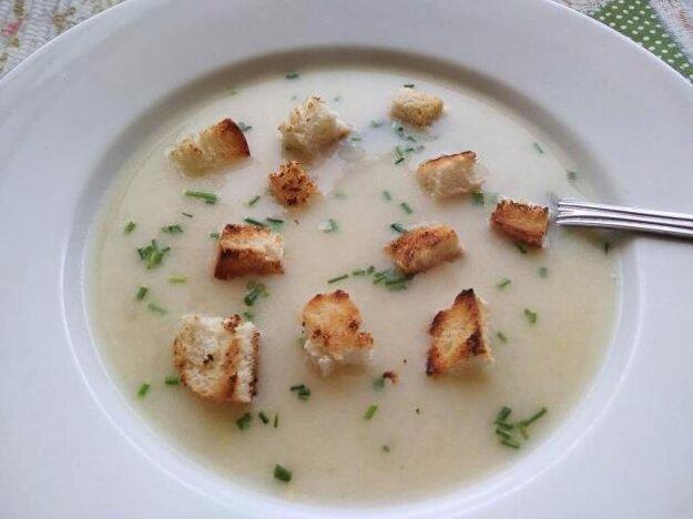 Krémovázelerová polievka