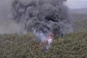 Lesný požiar v oblasti Gosper mountain v Novom Južnom Walese.