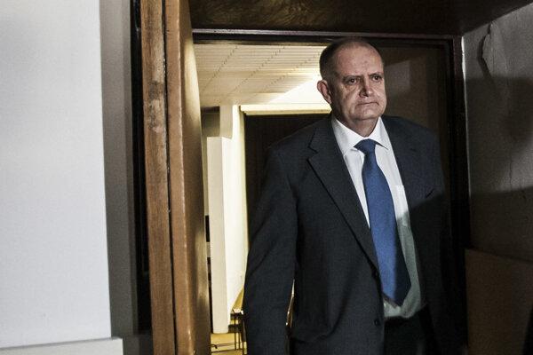 František Olejník teraz fotografovanie odmietol. Snímka je z jeho prepustenia na slobodu v roku 2017.