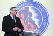 Nový člen Siene slávy NHL Václav Nedomanský.