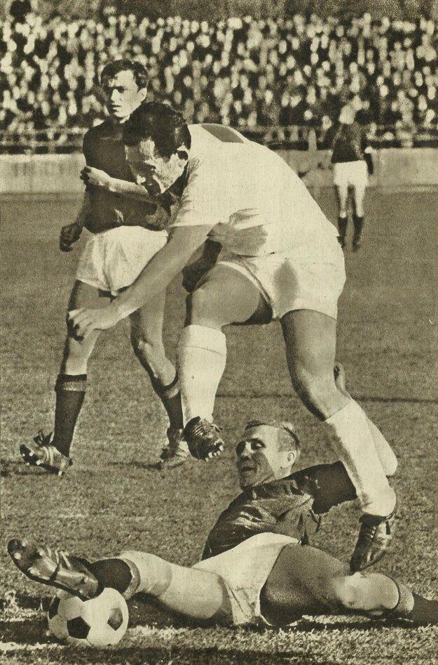 Milan Navrátil v útoku, jar 1968