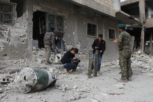 Košičania prenikli do miest zničených bojmi, akým je i iracký Sindžár, ktorý bol oslobodený spod vlády Islamského štátu.