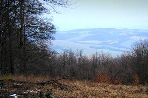 Pohľad na Malé Karpaty.