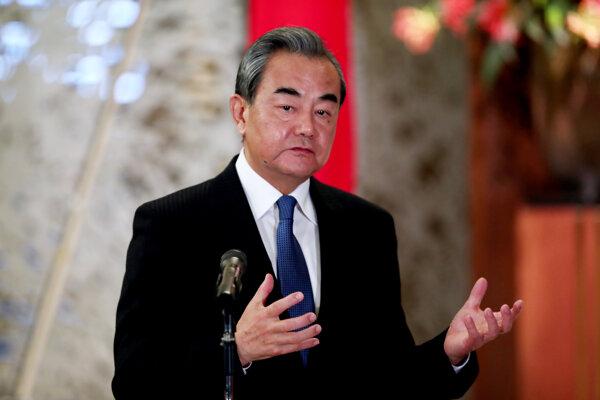Čínsky minister Wang I.