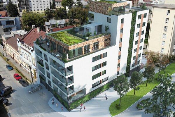 Nová bytovka má stáť na rohu Kukučínovej a Rastislavovej, oproti Kulturparku.