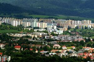 Sídlisko Sásová v Banskej Bystrici.