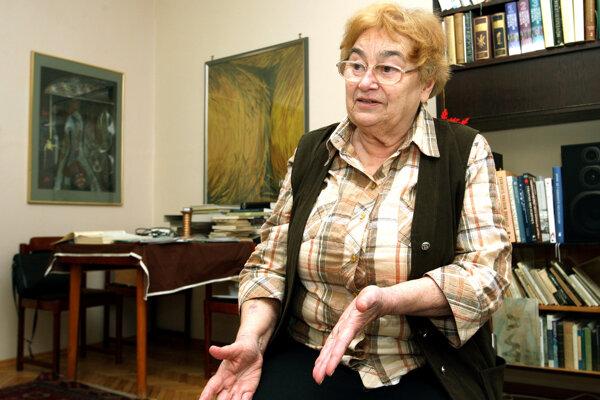 Klára Kubičková.