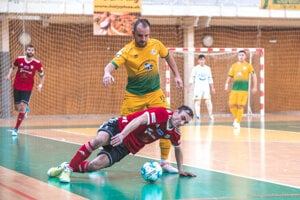 Levickí futsalisti aj napriek prehre zanechali proti Lučencu výborný dojem.