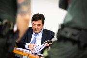 Marian Kočner na súde v kauze zmeniek televízie Markíza.