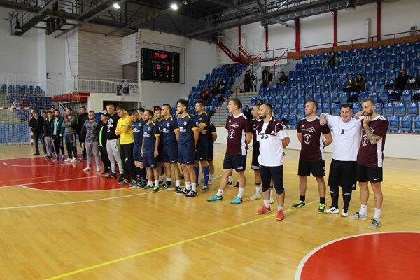 Pred 1. kolom Mestskej futsalovej ligy SPOOL a. s.