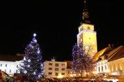 Vianočné trhy v Trnave sa začali minulý piatok.